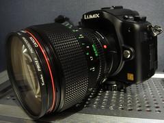 Lumix G1 + Canon NFD 85mm f1.2 L (digitalbear) Tags: new japan canon lumix tokyo 85mm panasonic mount adapter g1 miyamoto fd nfd f12l rayqual microfourthirds seisakusho