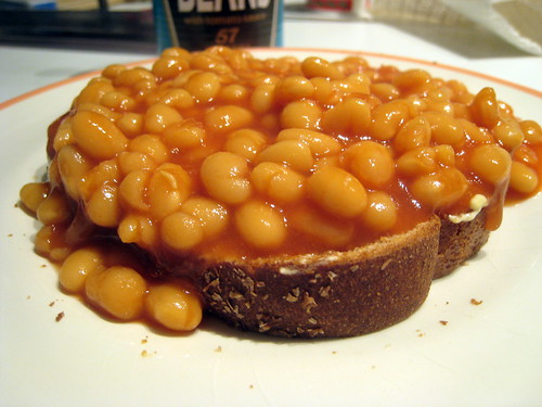 ... of beans on toast from baked beans these are english baked beans
