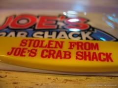 A Little Yellow Crab Fork (elinor_dear) Tags: bibs joescrabshack