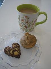Morning tea on Valentines Day