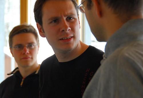 Lars, Dominik und Gerd