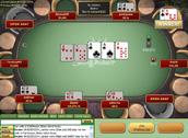 Sun Poker Table