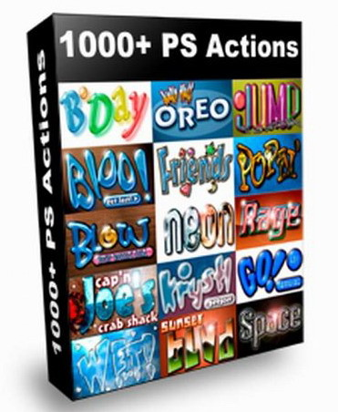 900 Photoshop Action