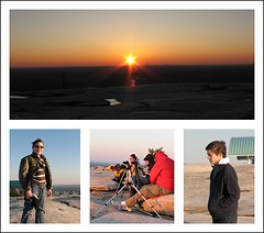 Stone Mountain Sunset collage (Scott Coulter) Tags: atlanta sunset collage canon georgia outdoor photowalk s2is stonemountain aps021909