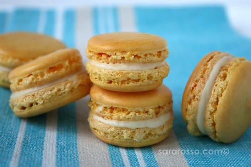 Lemon French Macarons with Limoncello White Chocolate ...