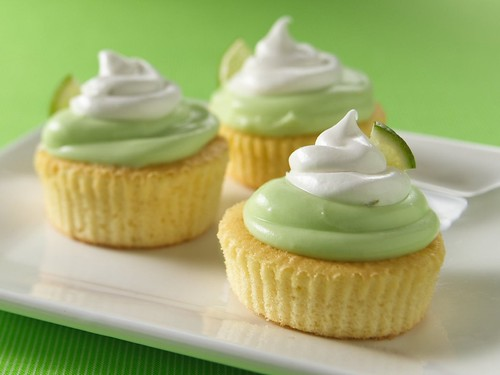 Mini Key Lime Cupcakes / Betty Crocker Recipes