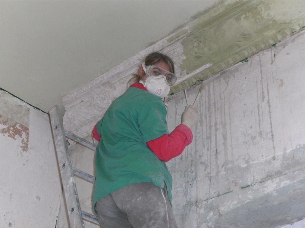Renovierung tochter schlafzimmer sleepingroom restauration coopix