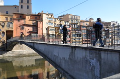 Bridge over Onyar river, Girona