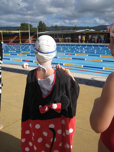 Christy at district swimming carnival