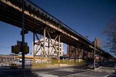 William Barclay Parsons (engineer), IRT Broadway Line Viaduct, New York, 1904 (rpa2101) Tags: harlem manhattan new york architecture infrastructure subway irt bridge engineering broadway 125th street manhattanvill lattice neutral density 5d tse 24mm long exposure daylight building