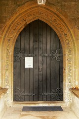 South door, St. Giles, Chesterton