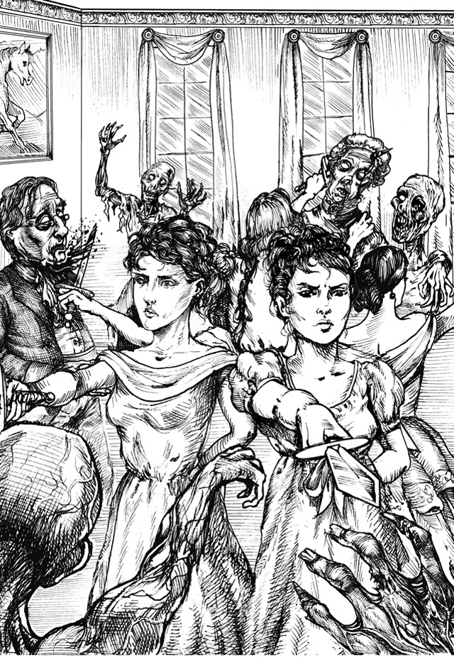 Prejudice and Zombies art