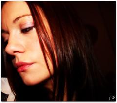 Profilo (SaraPc) Tags: woman girl face self donna eyes lips occhi ritratto pensieri bocca viso ragazza naso capelli faccia volto profili profilo
