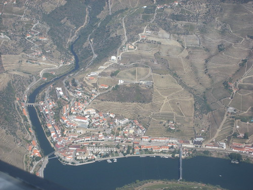 The Douro Valley and the Pinhão village