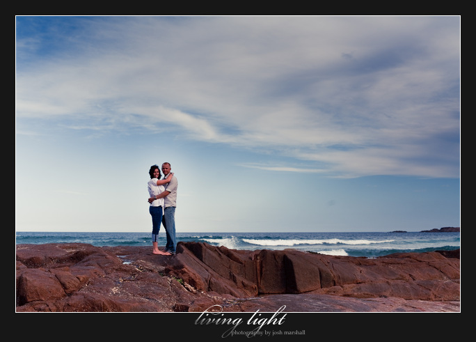Port Stephens: One Mile Beach. Wedding and engagement photography.