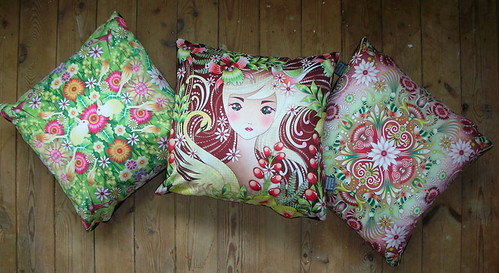 Catalina Estrada pillows