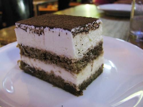 Tiramisu at Indulgence Cafe