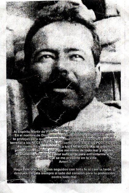 Oración a Francisco Villa