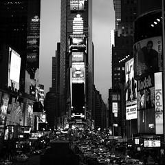 """One belongs to New York instantly, one belongs to it as much in five minutes as in five years."" ~ Thomas Wolfe (.I Travel East.) Tags: onebelongstonewyorkinstantlyonebelongstoitasmuchinfiveminutesasinfiveyears onetimessquare fromduffysquare timessquare manhattan newyorknewyork monochrome blackandwhite newyork black white bw cgb city cityscape theonetimessquaretilttotherightisanillusionp itraveleast nikon architecture blackwhite streetphotography bigapple nikkor ny cars traffic kodak"