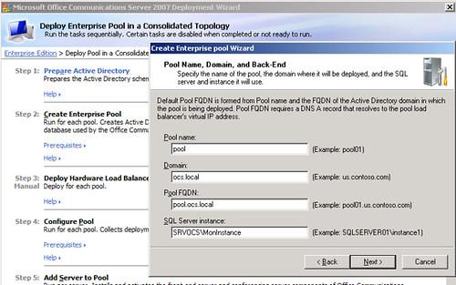 Problème d'installation SQL Server pour OCS R1 Entreprise