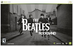 """The Beatles: Rock Band"" cover art"