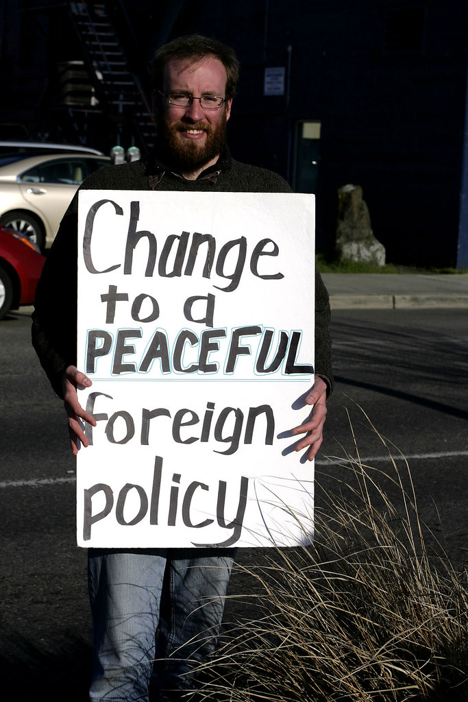 Message to the US Government: CHANGE to a Peaceful Foreign Policy