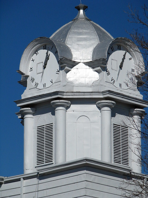 Cumberland Co. Courthouse 7: Clock tower detail