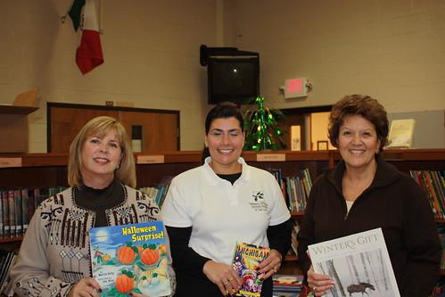 Volunteers Barb Lawrence, Mona Armstrong & Kathy Hugdahl