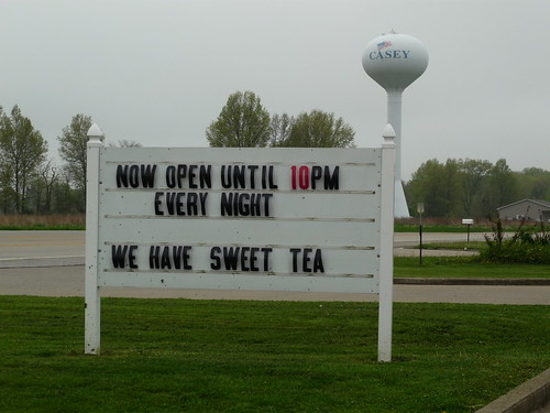 We have sweet tea!