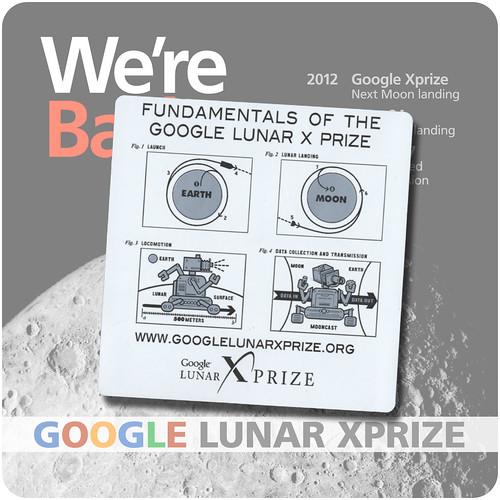 Google XPrize Stickers