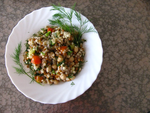 Pulse & Barley Salad