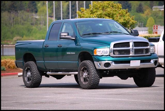 green 4x4 diesel dodge ram2500