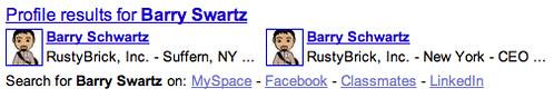 Google Profile Misspelling
