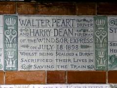 Memorial, Postman's Park, London