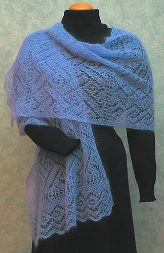 Ravelry Lacy Lattice Stole Pattern By Dorothy Siemens