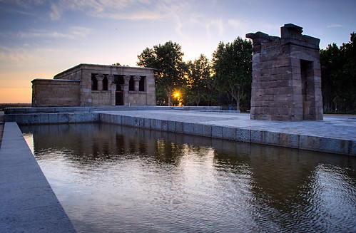 Templo de Debod Sunset 01