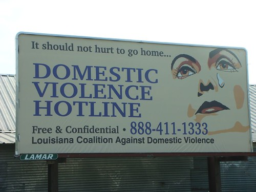 Bill board in Crowley, Louisiana.