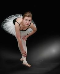 MODEL CAREER (starlight) (MC BAILY) Tags: light portrait ballet sexy beautiful dance model ballerina stage gorgeous models modelling slippers tutu