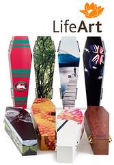 LifeArt eco coffins
