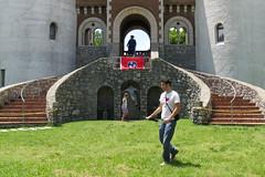 Closing Day (Zepfanman.com) Tags: castle me architecture tennessee flag faire renaissancefestival gwynn arrington tnrenfest