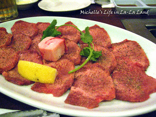 Tsuruhashi- Beef Tongue