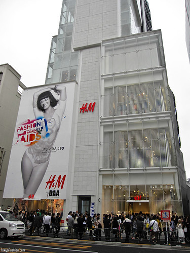 Giant Katy Perry in Harajuku