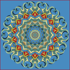 KPLAY Pattern for May (Gravityx9) Tags: blue photoshop pattern kaleidoscope chop 000 amer 0509 mastersoflight bestoftheblues kplay envyofpsphotoart oradaydim 053009 kplayplus