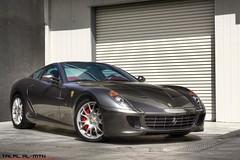 Ferrari GTB (Talal Al-Mtn) Tags: blue red car yellow shot engine super ferrari f kuwait v8 talal f430 gtb q8 v12 599 ferrari599gtb almtn talalalmtn
