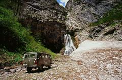Gegsky waterfall