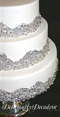 Mercury close up (Deliciously Decadent (Taya)) Tags: wedding white cake silver mercury cachous dregrees