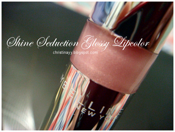 Maybelline New York: Shine Seduction Glossy Lipcolor
