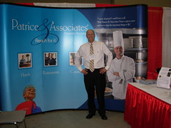 Todd Silberhorn in Front of the Boston Franchise and Finance Show