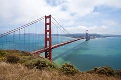 Golden Gate Bridge from the Marin Headlands-5 (Mike Disharoon) Tags: sanfrancisco canon goldengatebridge marinheadlands