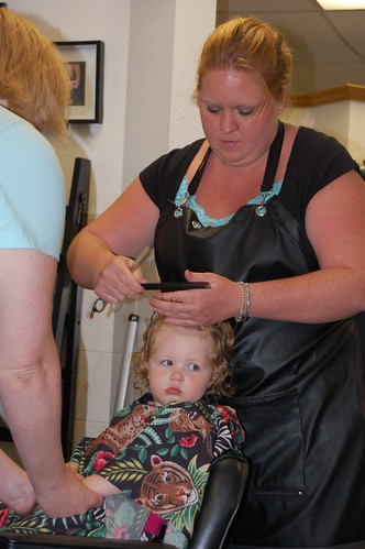 Ardyn's First Haircut (and mom cuts hers off again!)